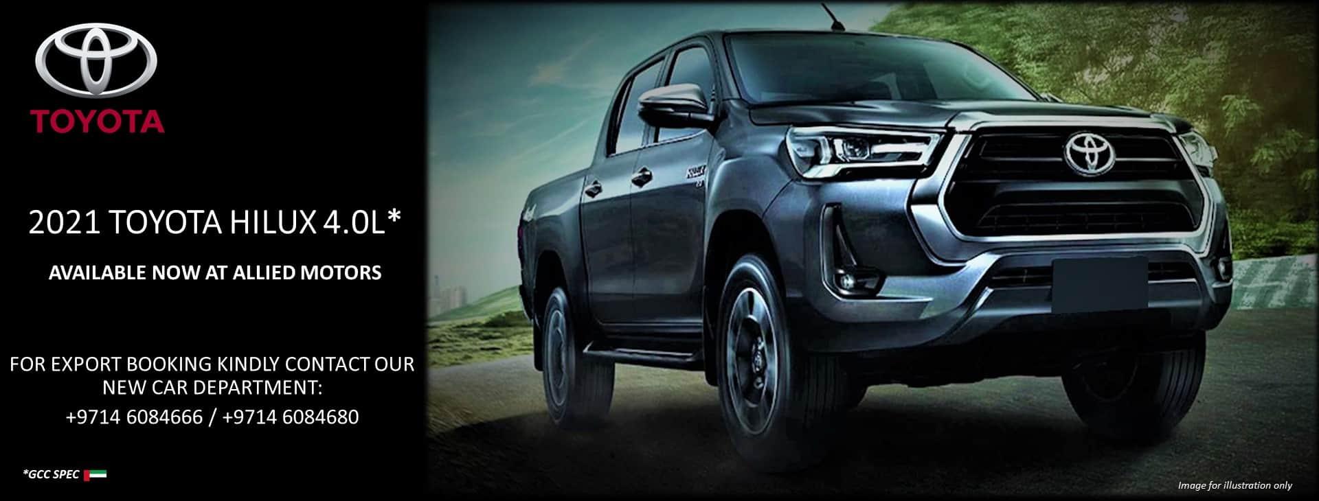 Toyota Hilux 4.0L 2021
